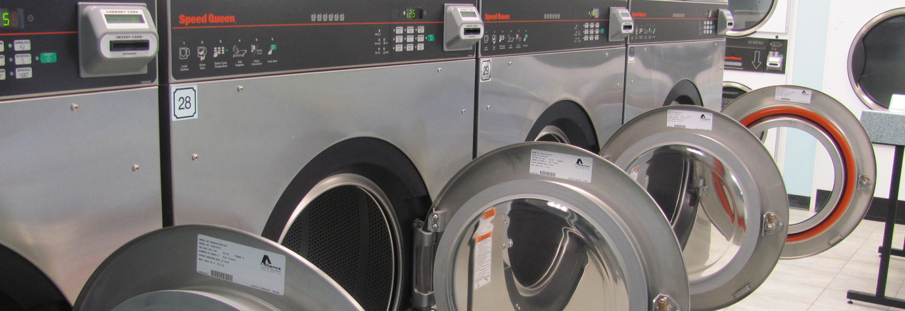 Industries Coin Vended Speed Queen BDS Laundry Systems