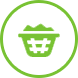 Coin Served Green Icon