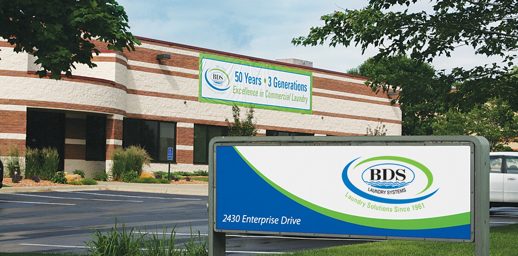 Header BDS Laundry Systems Location