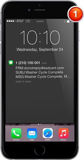 iPhone Laundry Phone App BDS Laundry