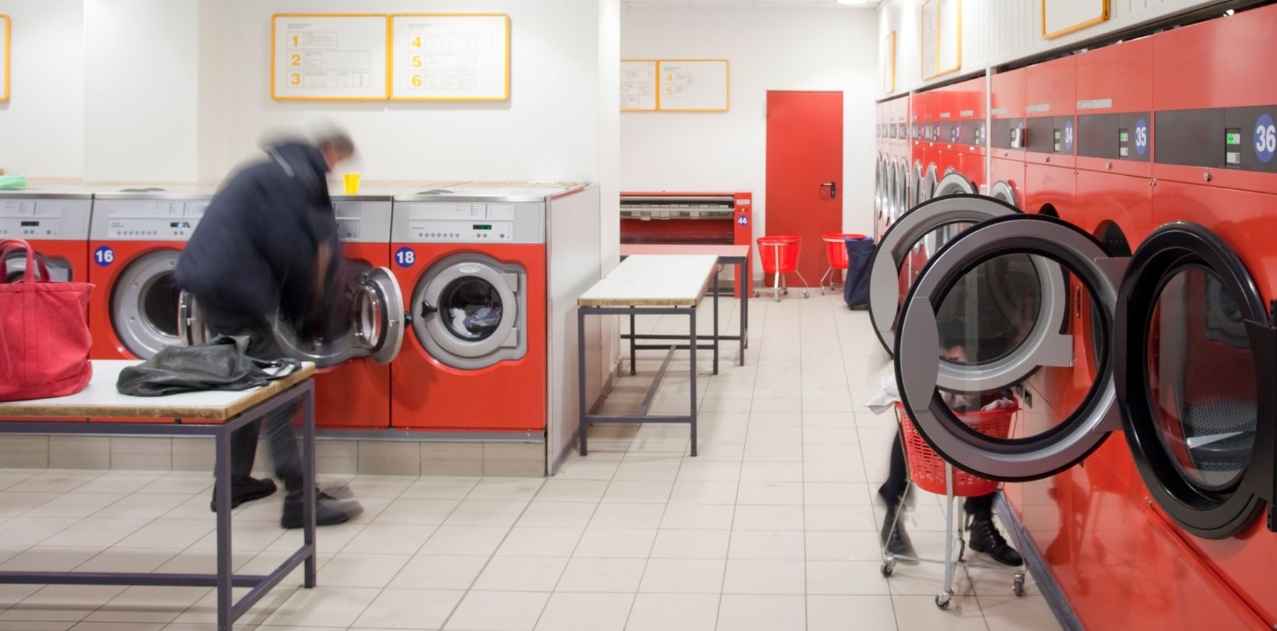 Red Laundry Facility BDS Laundry