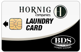 Hornig Laundry Card BDS Laundry