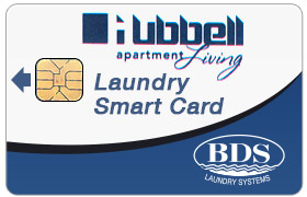 Hubbell Laundry Smart Card