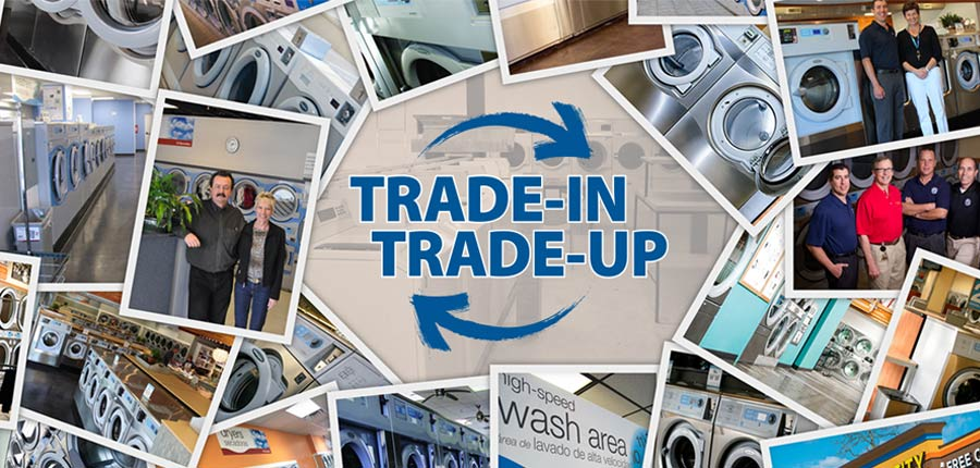 Trade in trade up BDS Laundry