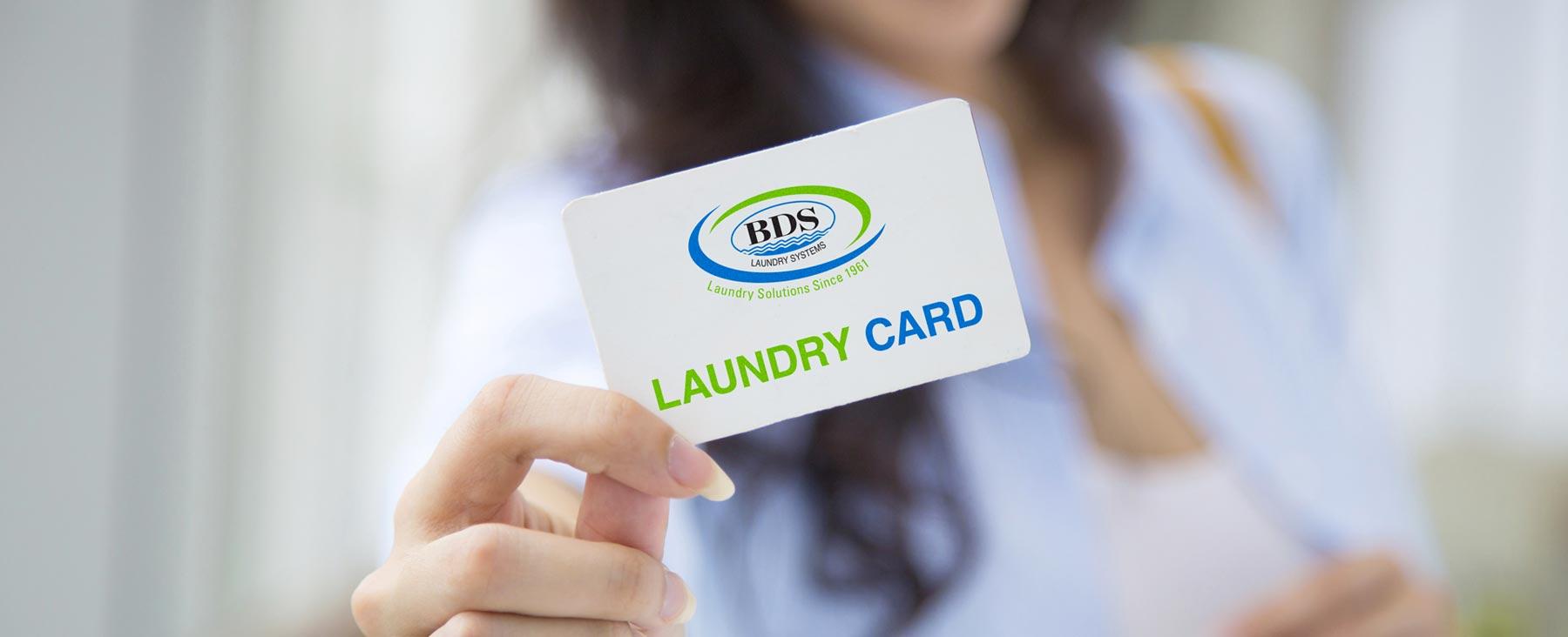 Header Laundry Card System Multihousing