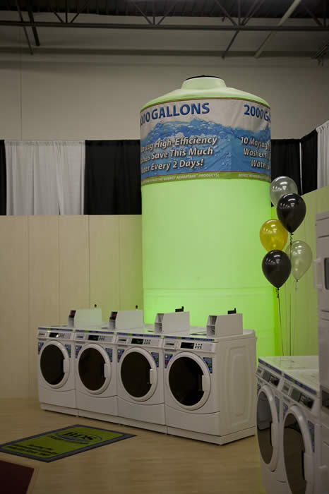 BDS11-5526 Coin Vended Laundry Machines Event