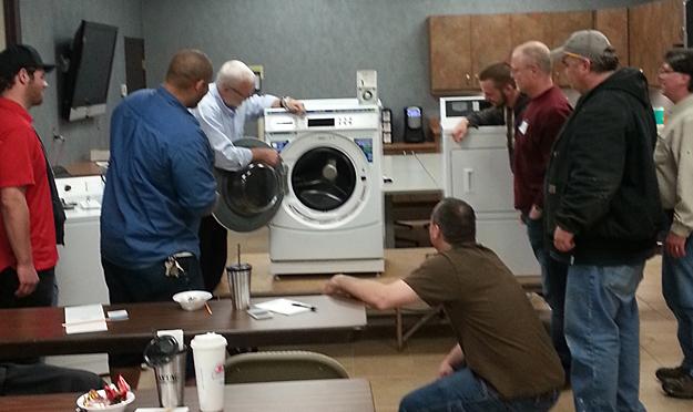 BDS Service School Laundry Classes