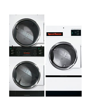 ST-STT-Series stacked washer and dryer BDS Laundry