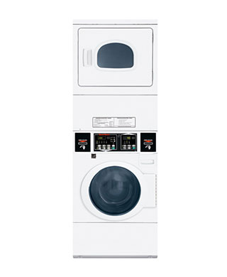 STEGLYFS Speed Queen stacked washer and dryer BDS Laundry