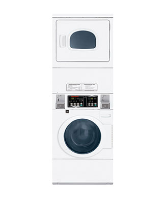 STEGLCFS Speed Queen stacked washer and dryer BDS Laundry