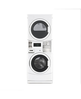 MLEG20PD stacked washer and dryer BDS Laundry
