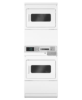 MLEG24PD stacked washer and dryer BDS Laundry