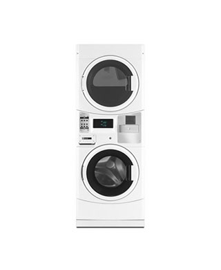 MLEG20PR stacked washer and dryer BDS Laundry