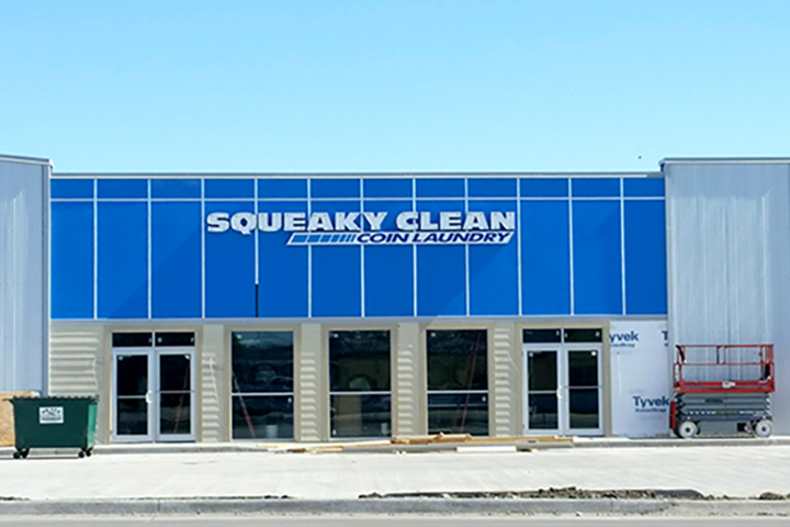Squeaky Clean Coin Laundry Building
