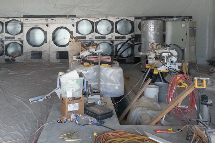BDS Laundry Facility Construction