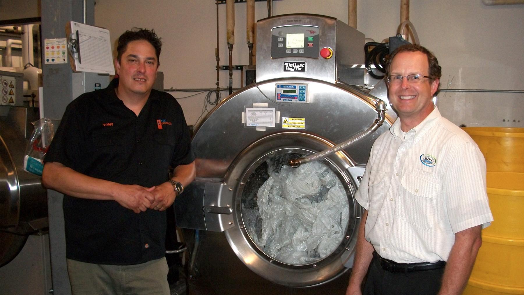 TEK Products Unimac BDS Laundry Systems