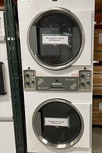 Used Huebsch 30# Stack Dryer