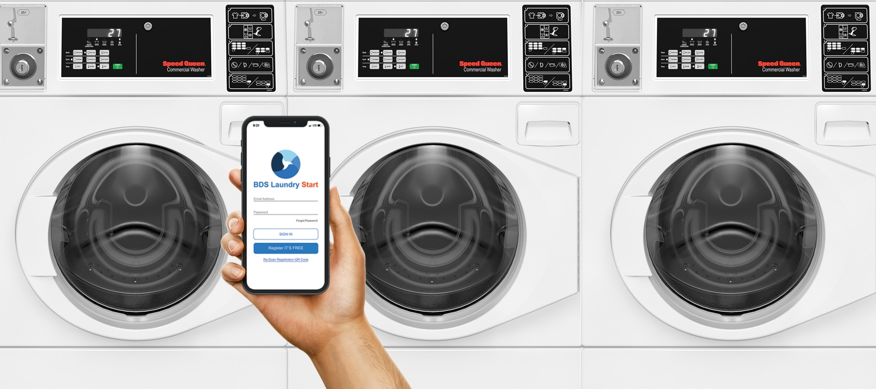 BDS Laundry Mobile Pay