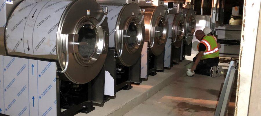 BDS Laundry Installs New OPL Equipment at Historic Iowa Hotel